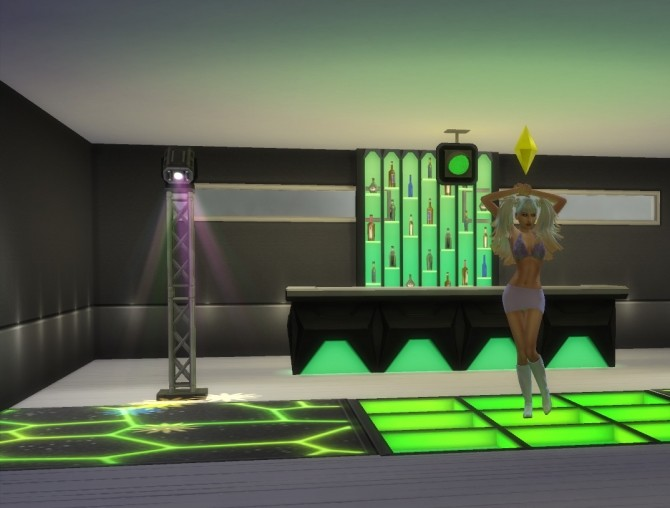 Sims 4 Get Together Club Recolors by fire2icewitch at Mod The Sims