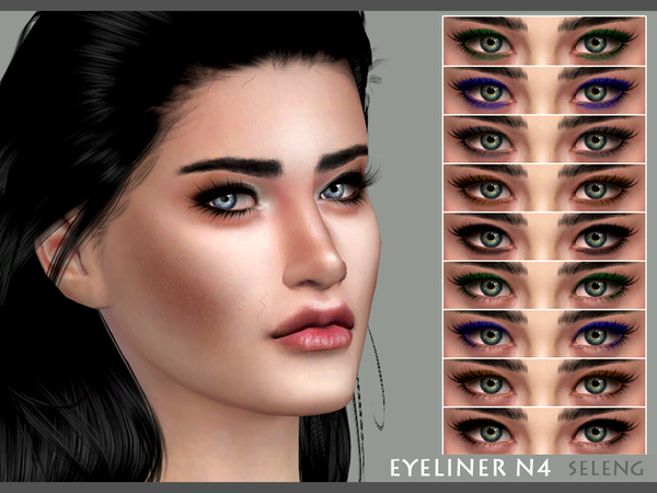 Eyeliner N4 by Seleng at TSR image 4101 Sims 4 Updates