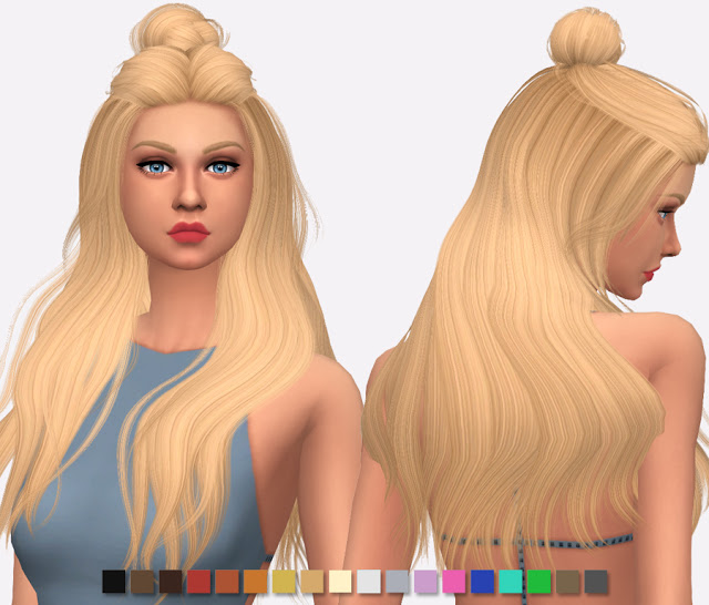 Wings Hair OS0520 Re texture at Simlish Designs image 4110 Sims 4 Updates