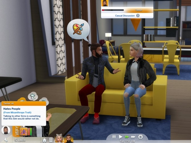 Sims 4 Misanthrope Trait by Twilightsims at Mod The Sims
