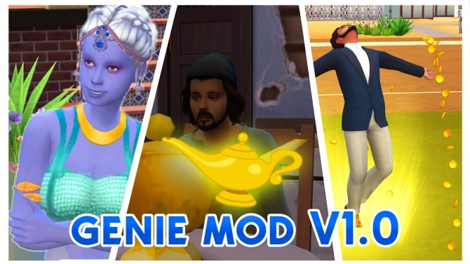 Sims 4 Genie Mod V1.0 by Nyx at Mod The Sims