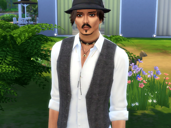 Johnny Depp by Jolea at TSR image 4181 Sims 4 Updates