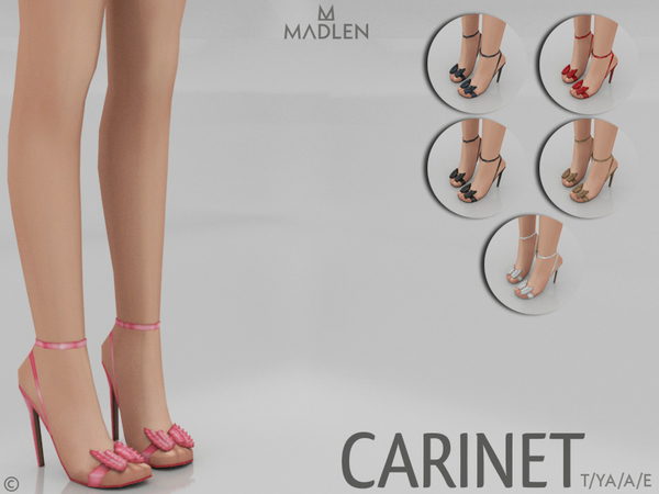 Madlen Carinet Shoes by MJ95 at TSR image 4211 Sims 4 Updates