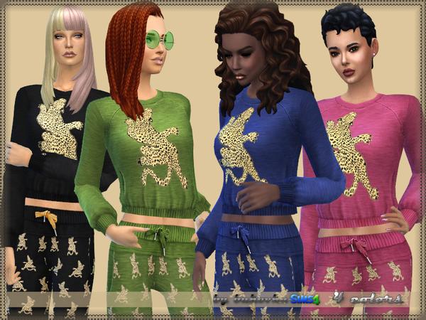 Set Leopard by bukovka at TSR image 4212 Sims 4 Updates