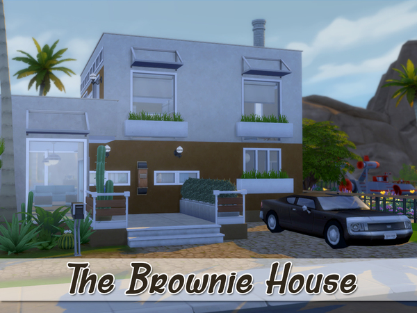 The Brownie House by dj0uliia at TSR image 439 Sims 4 Updates