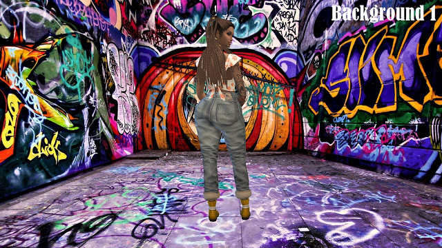 CAS Backgrounds Graffiti at Annett's Sims 4 Welt image 452 Sims 4 Updates