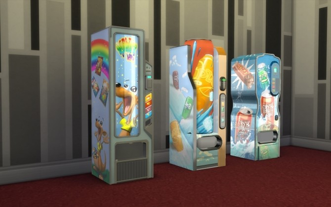 Sims 4 Vending Machines by fire2icewitch at Mod The Sims