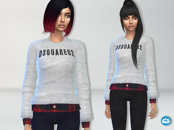 Designer Sweatshirt by Puresim at TSR image 4720 Sims 4 Updates