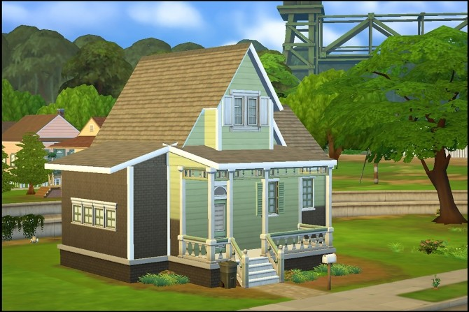 New Streamlet Single house by Hallgerd at Mod The Sims image 476 670x447 Sims 4 Updates