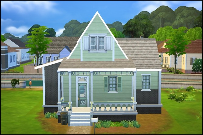 New Streamlet Single house by Hallgerd at Mod The Sims image 486 670x447 Sims 4 Updates