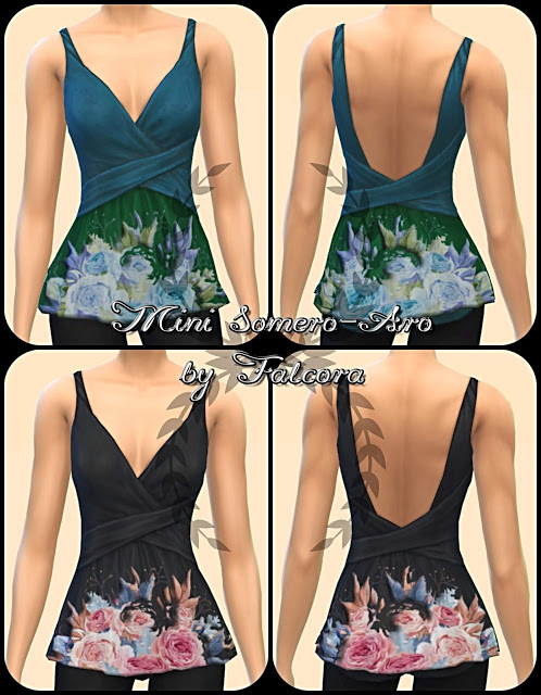 Mini Somero Aro 16x top at Petka Falcora image 487 Sims 4 Updates