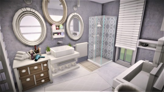 Bedroom/ bathroom/ wardrobe at Agathea k image 4911 Sims 4 Updates