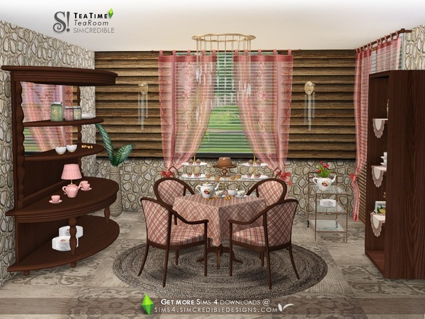 Tea Time set by SIMcredible at TSR image 4922 Sims 4 Updates