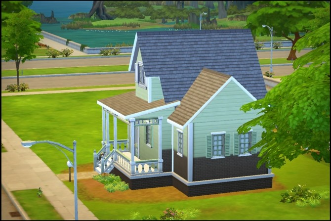 New Streamlet Single house by Hallgerd at Mod The Sims image 496 670x447 Sims 4 Updates
