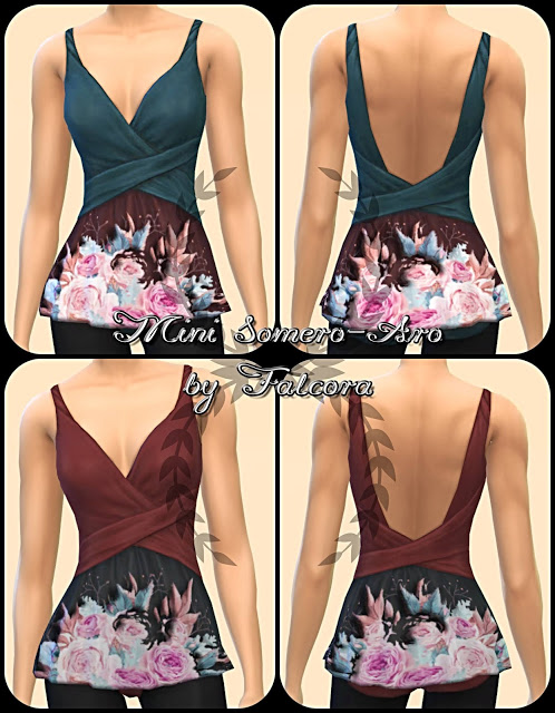 Mini Somero Aro 16x top at Petka Falcora image 497 Sims 4 Updates