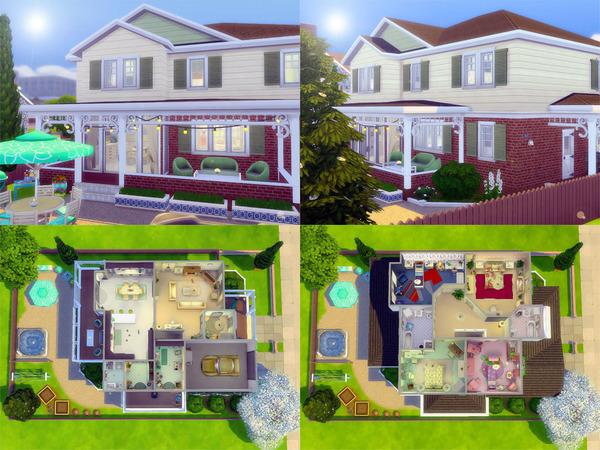 Sims 4 Greenacres family home build by sharon337 at TSR