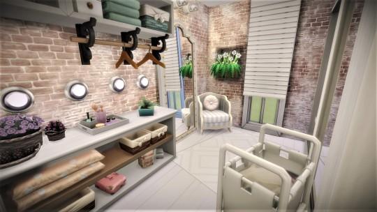 Bedroom/ bathroom/ wardrobe at Agathea k image 5011 Sims 4 Updates