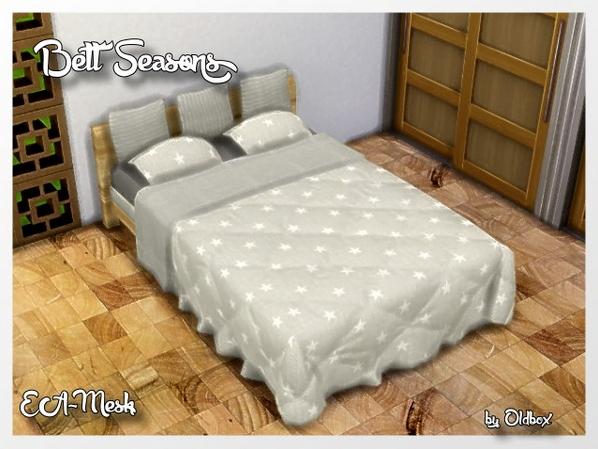Sims 4 Seasons Beds by Oldbox at All 4 Sims