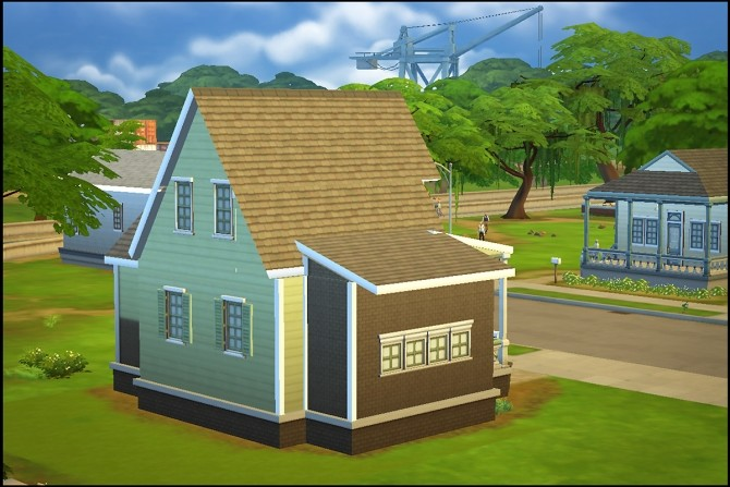 New Streamlet Single house by Hallgerd at Mod The Sims image 506 670x447 Sims 4 Updates