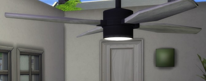 Ceiling fan with built in lamp by Jokerman at Mod The Sims image 511 670x265 Sims 4 Updates