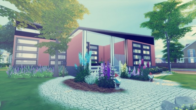 Magnolia House at Simming With Mary image 5115 670x377 Sims 4 Updates