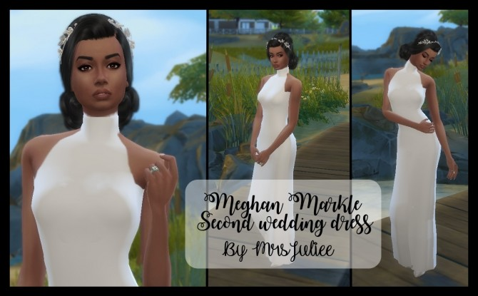 Wedding dress by MrsJuliee at Sims 4 Fr image 5119 670x415 Sims 4 Updates