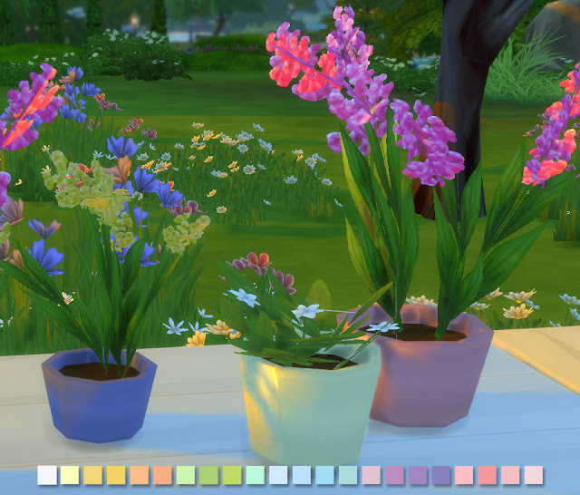 Liberated Flowers in Pastels at Simlish Designs image 5215 Sims 4 Updates