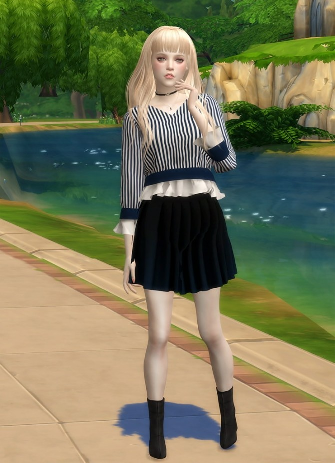 Emily at Vicky SweetBunny image 5216 670x926 Sims 4 Updates