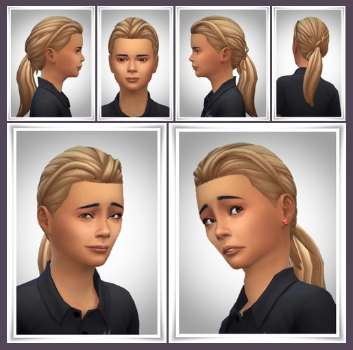 Daniels Ponytail at Birksches Sims Blog image 523 Sims 4 Updates