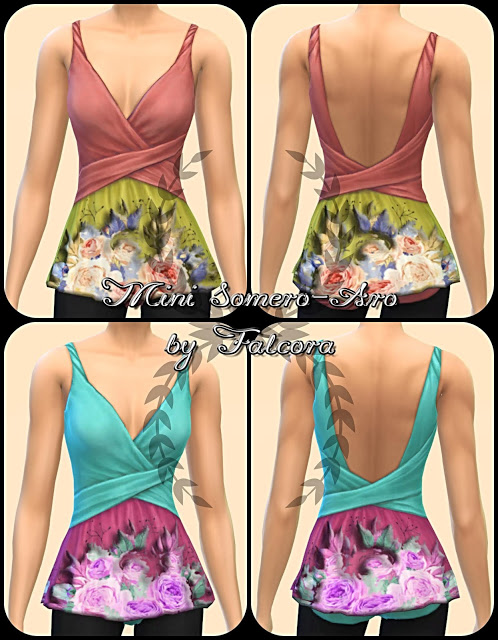 Sims 4 Mini Somero Aro 16x top at Petka Falcora