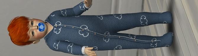 SKETCHOBOOKPIXELS ACE ONESIE by Thiago Mitchell at REDHEADSIMS – Coupure Electrique image 529 670x192 Sims 4 Updates