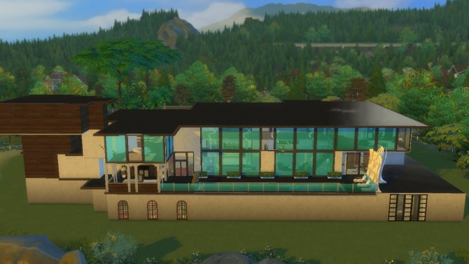 365 Mount Olympus Drive by Cuddlepop at Mod The Sims image 531 670x377 Sims 4 Updates
