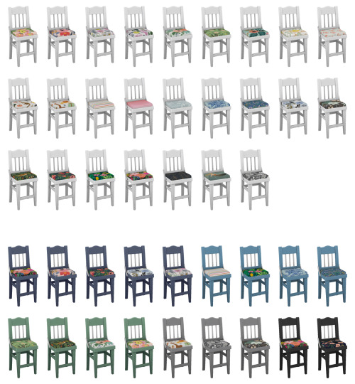 Rifle Paper Kitchen Stools at SimPlistic image 5410 Sims 4 Updates
