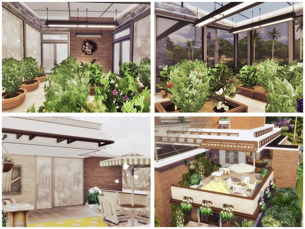 Sims 4 Frida house by Danuta720 at TSR