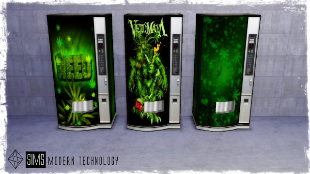 MG24 Vending Machine at Sims Modern Technology image 561 Sims 4 Updates