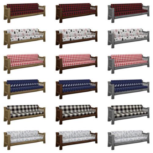 Canada rustic furniture set at SimPlistic image 5611 Sims 4 Updates