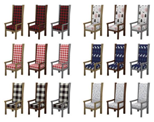 Canada rustic furniture set at SimPlistic image 5711 Sims 4 Updates