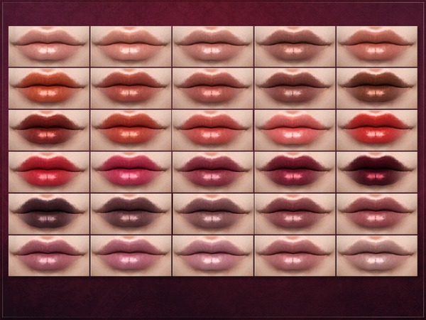 Sims 4 Microbial Lipstick by RemusSirion at TSR