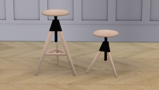 TOM AND JERRY stools at Meinkatz Creations image 573 670x377 Sims 4 Updates