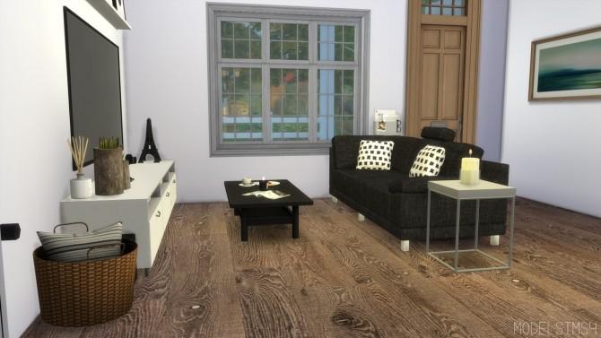 Sims 4 LIVINGROOM   Family House at MODELSIMS4