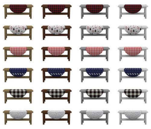 Canada rustic furniture set at SimPlistic image 5811 Sims 4 Updates