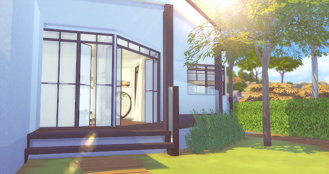 Sims 4 Modern Family House at Liney Sims