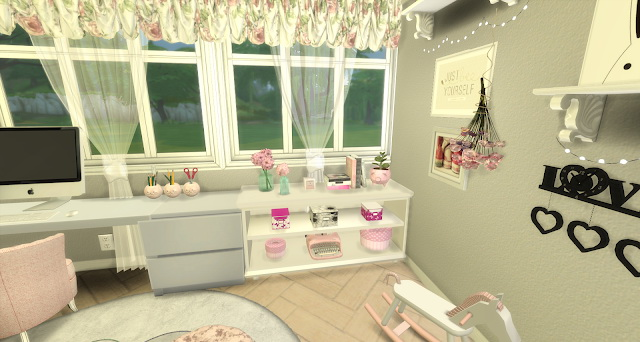Bree pink and girly kids room by Rissy Rawr at Pandasht Productions image 591 Sims 4 Updates