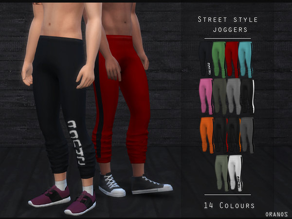 Street Style Joggers by OranosTR at TSR image 5921 Sims 4 Updates