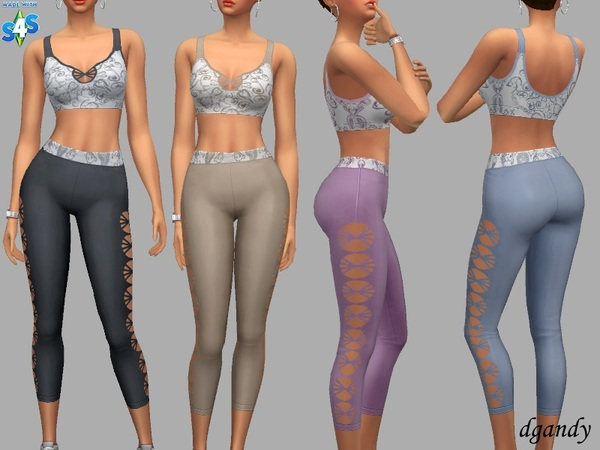 Vera athletic outfit by dgandy at TSR image 5922 Sims 4 Updates