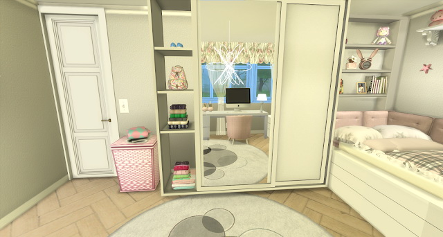 Bree pink and girly kids room by Rissy Rawr at Pandasht Productions image 601 Sims 4 Updates