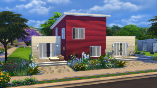 Sims 4 Newport house at MODELSIMS4