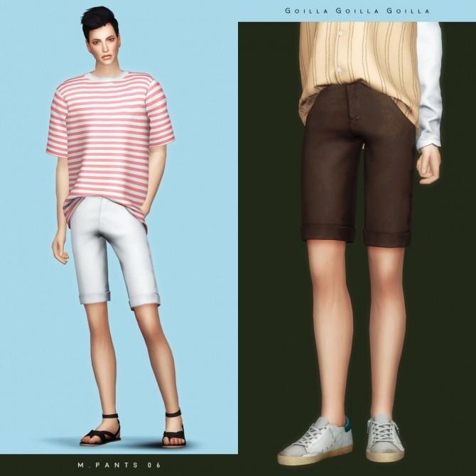 Sims 4 M. Pants 06 at Gorilla