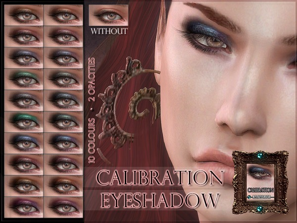 Calibration Eyeshadow by RemusSirion at TSR image 6211 Sims 4 Updates