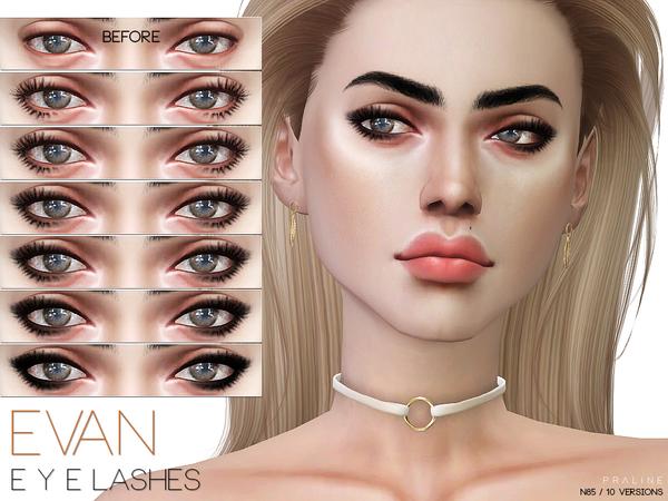 Sims 4 Evan Eyeliner N85 by Pralinesims at TSR